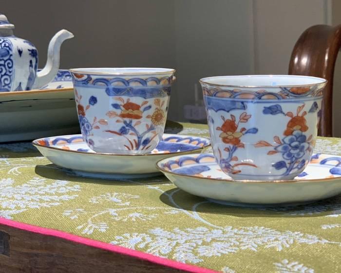橄欖樹下,一個開始夢想的地方---敬邀您來我們的第一個展覽「用清代盛世的杯子來喝茶」