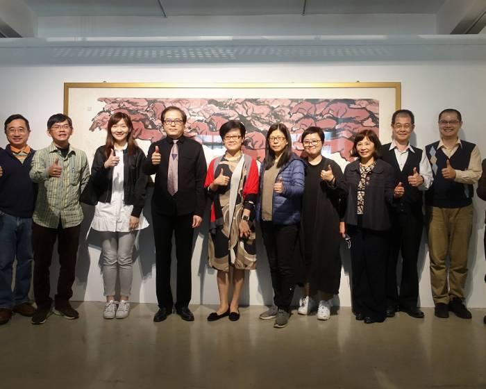 臺灣藝術大學:OUR ART藝術品競標義拍會揭幕式