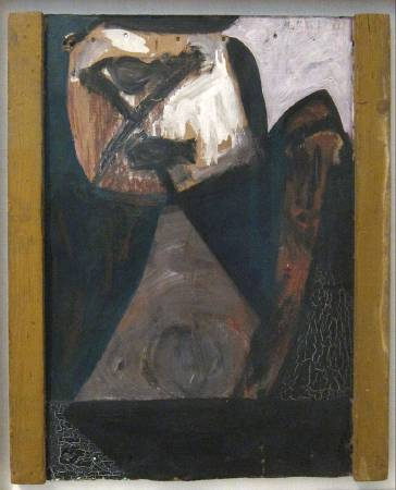 Robert Motherwell ,Ulysses,oil painting,1947。圖/取自wikipedia