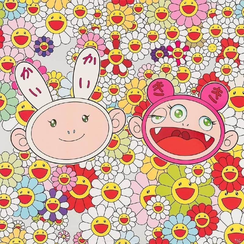 村上隆作品Kaikai Kiki News NO2。圖/愛上藝廊提供