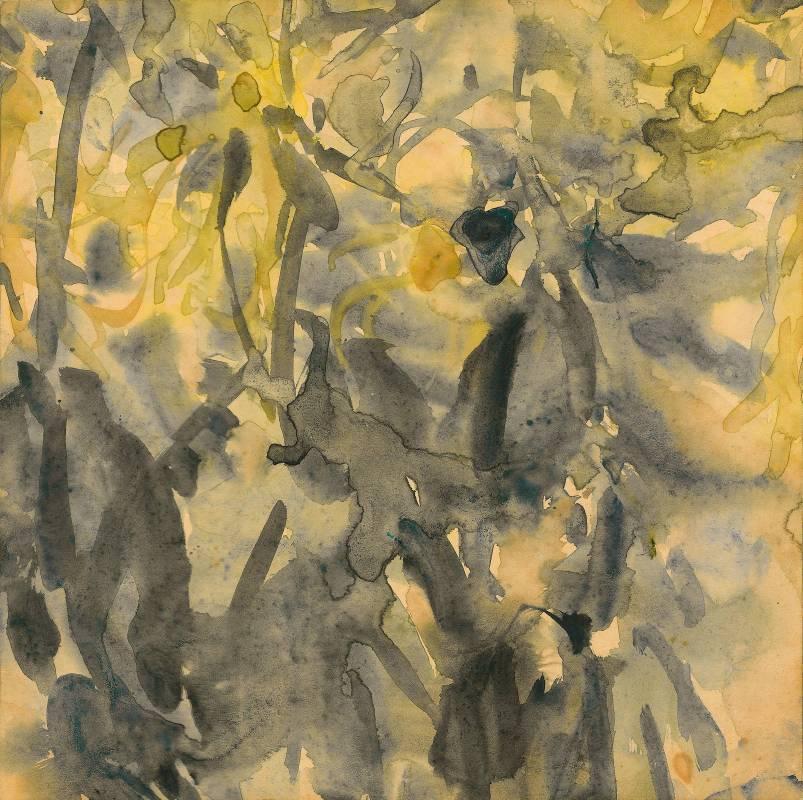 生長, 水彩·紙本, 31.8x31.8 cm