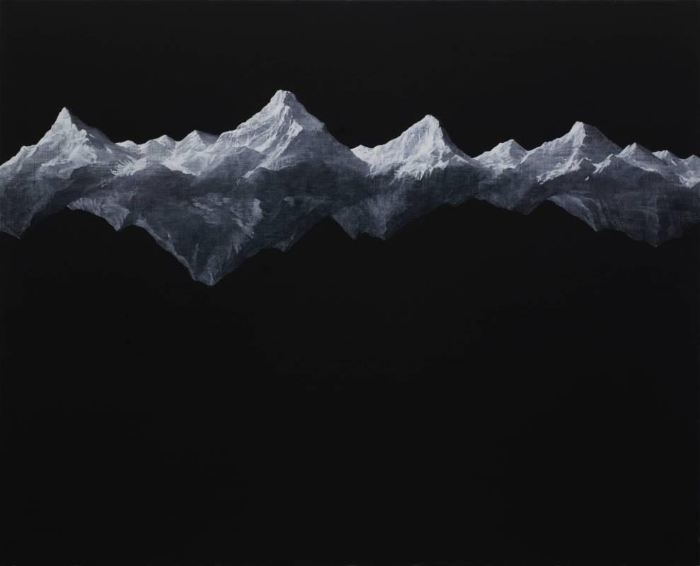 藤原康博  | 逢魔時  twilight  |  65.2 × 80.3 cm | 壓克力顏料 畫布| 2013