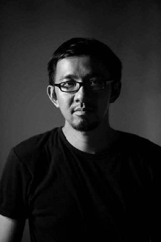 藝術家吳達新。