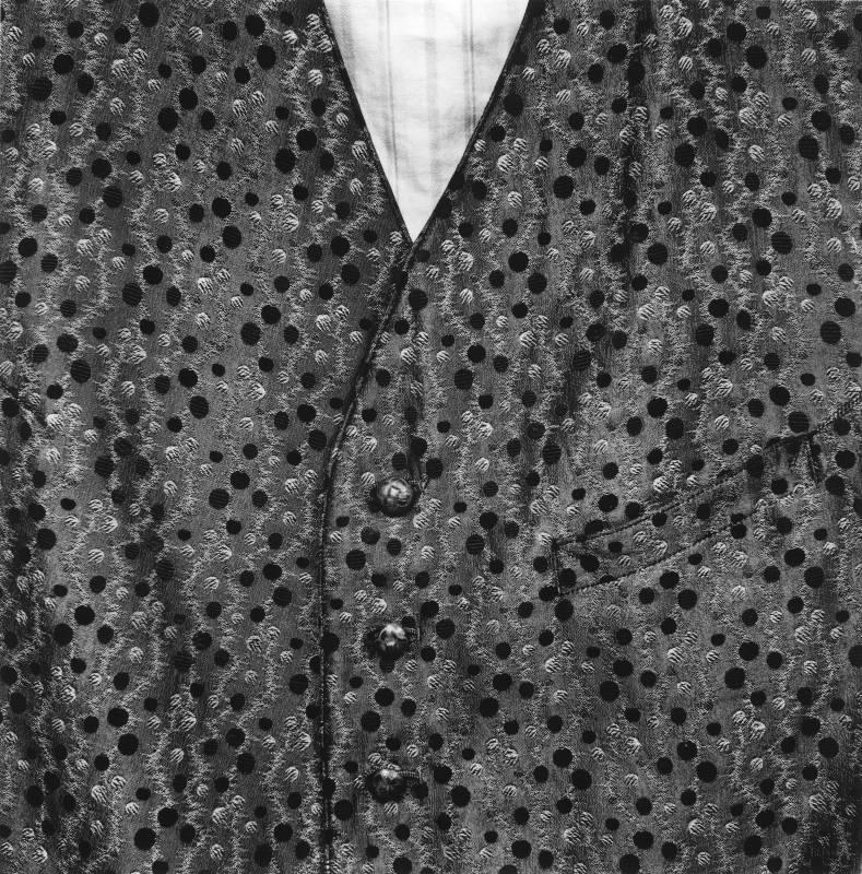 《作家Jón Traust的背心,Kópasker》 2015 銀鹽相紙 20x20 cm