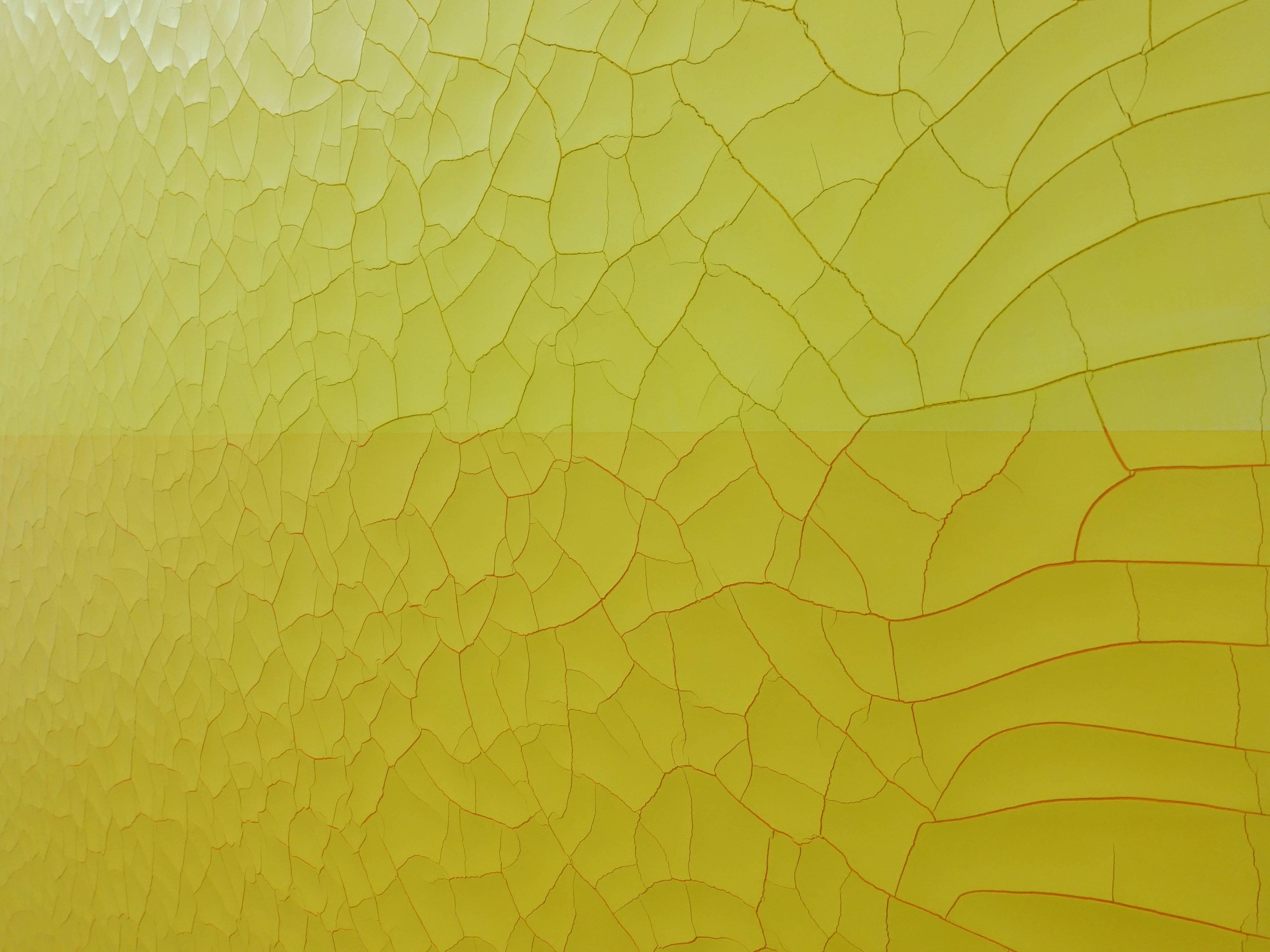 王永衢,《One Hundred Year March》細節,110 x 110 cm,乳膠漆、廣告顏料、畫布、木板,2019。