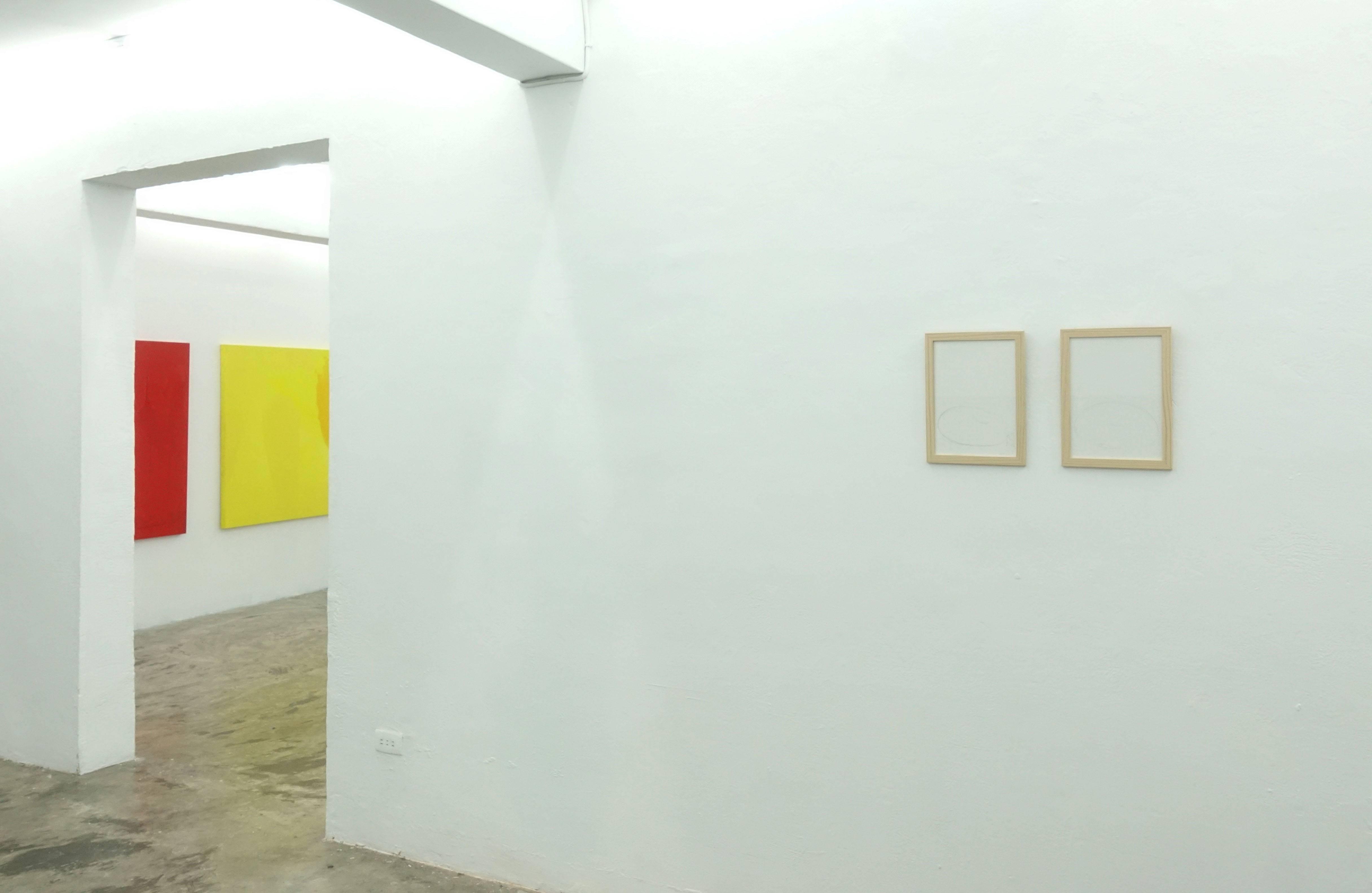 伊通公園展出《自成徑─台灣境派藝術》系列三 展覽現場一隅。