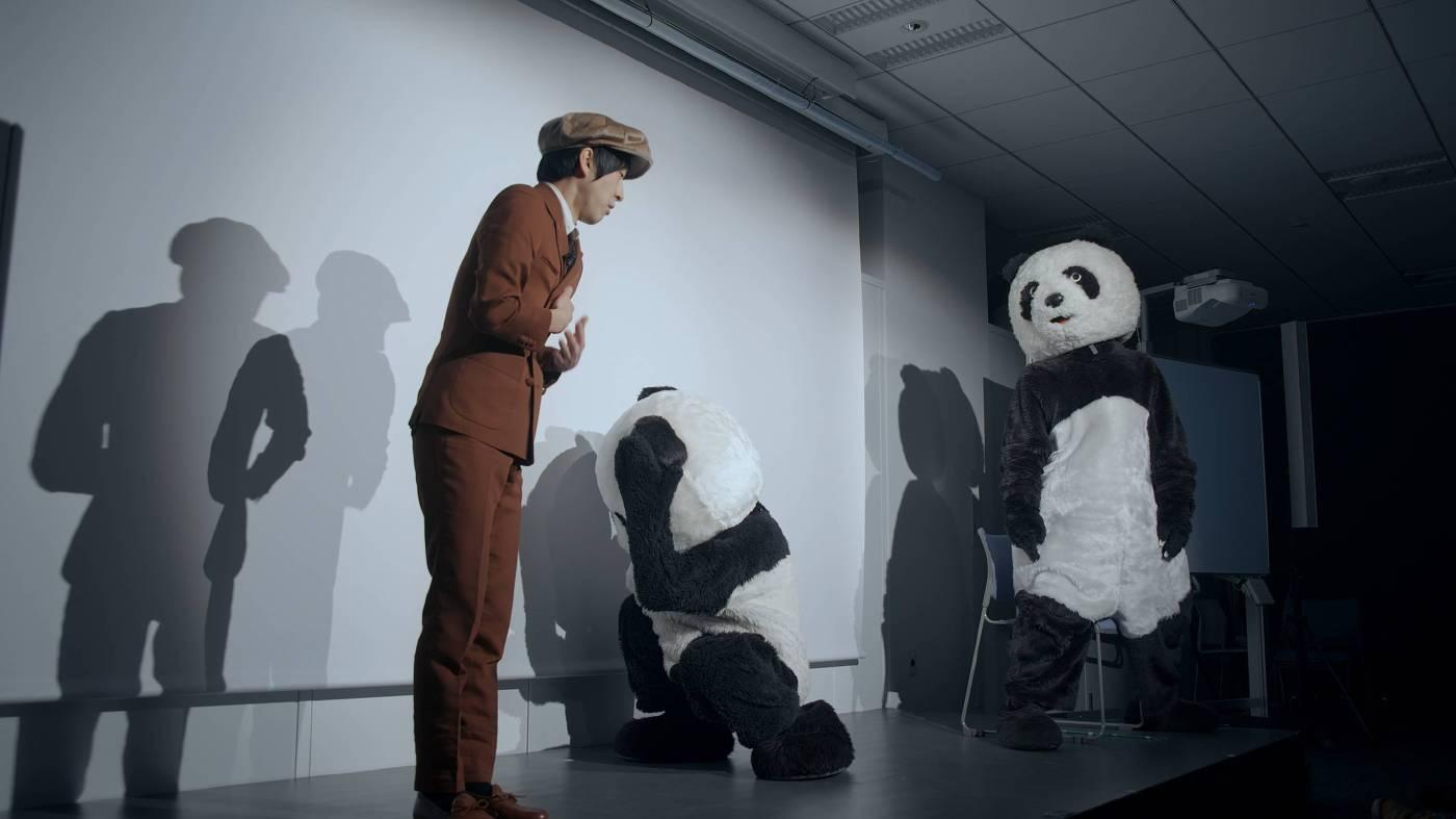 許家維 黑與白-熊貓 第二章:好可愛啊!