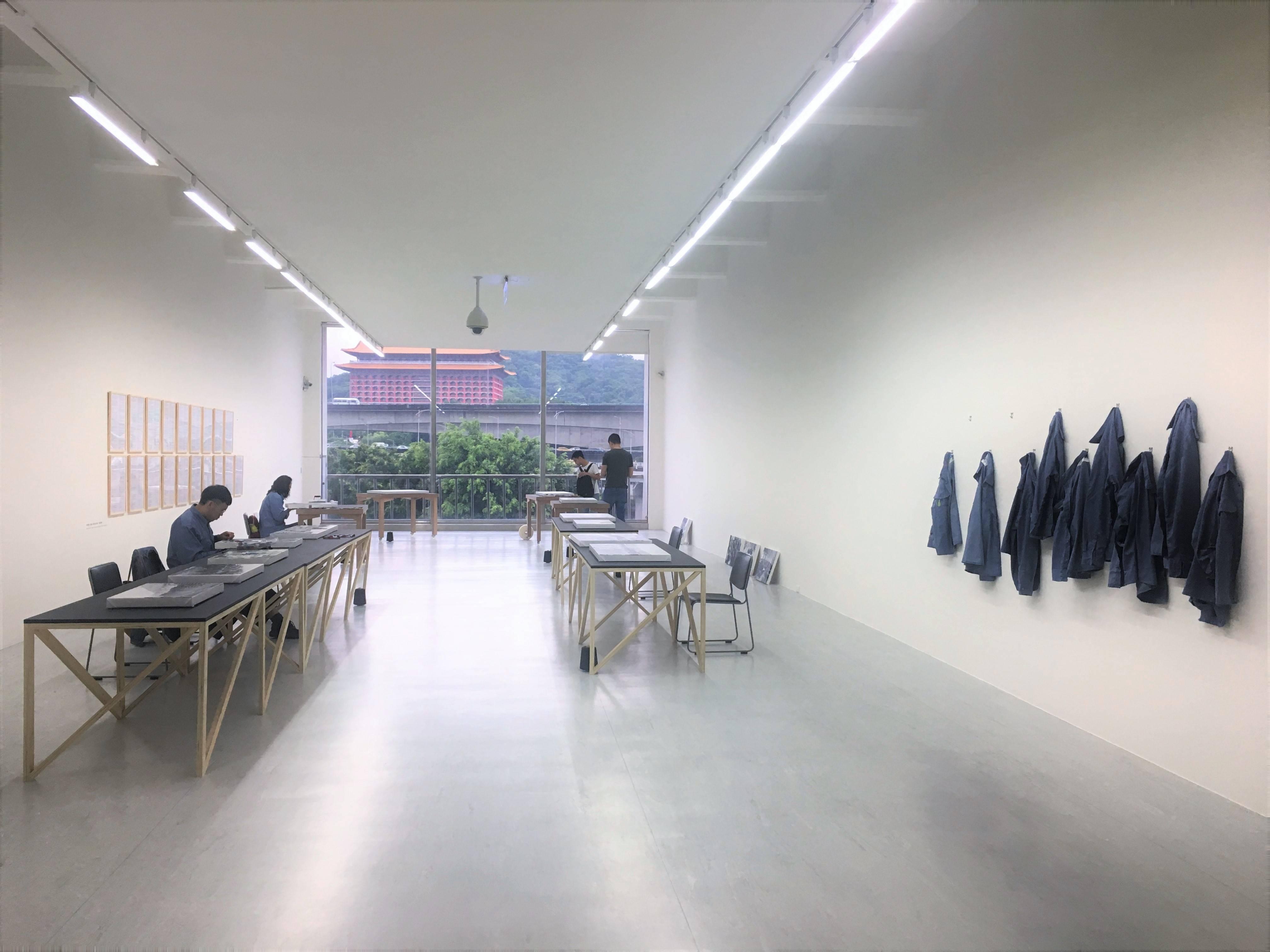 【冷鍊】侯怡亭個展 展覽現場實紀。
