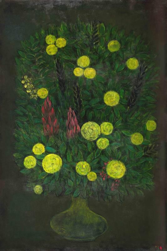 生命之花-10 Blossoms of Life-10 180x120cm 油畫、畫布 Oil on canvas 2018
