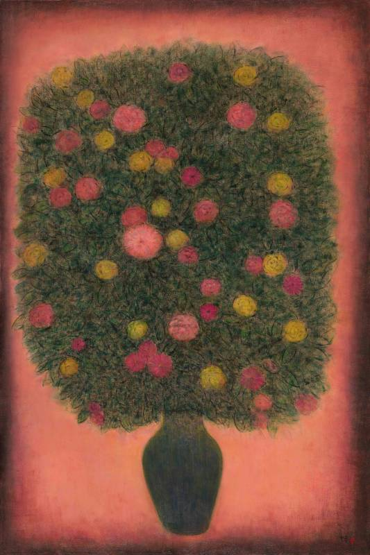 生命之花-3 Blossoms of Life-3 180x120cm 油畫、畫布 Oil on canvas 2018