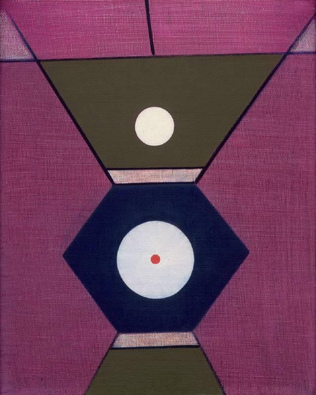 霍剛 Ho Kan,〈無題〉Untitled,1998,油彩、畫布Oil on canvas,50x40cm