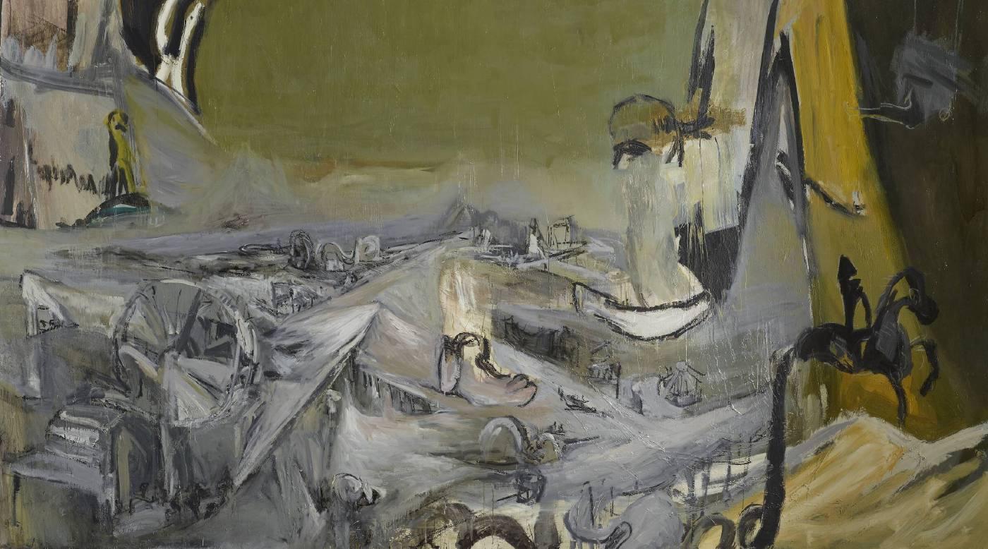 常陵 大玄玄社會-遊樂園 2012 油彩 186x326cm