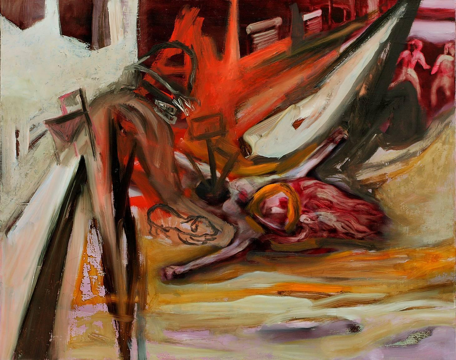 常陵|大玄玄社會-page15|2012|油彩|76x91cm