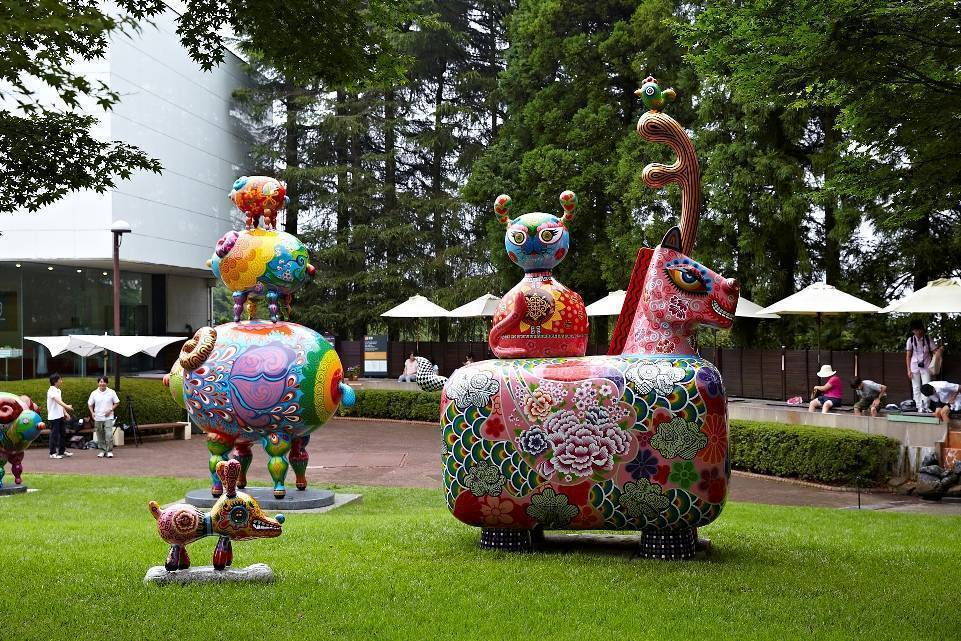 日本雕刻之森戶外展區