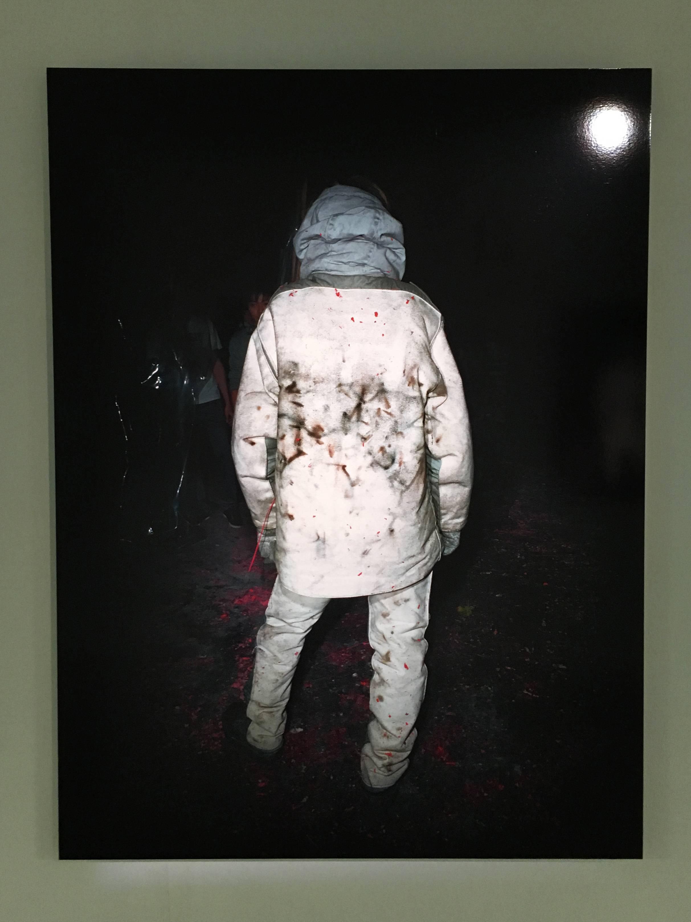 陳伯義,《食砲人 - IV》,75 x 100 cm,雷射輸出彩色銀鹽相紙,1/8,2012。
