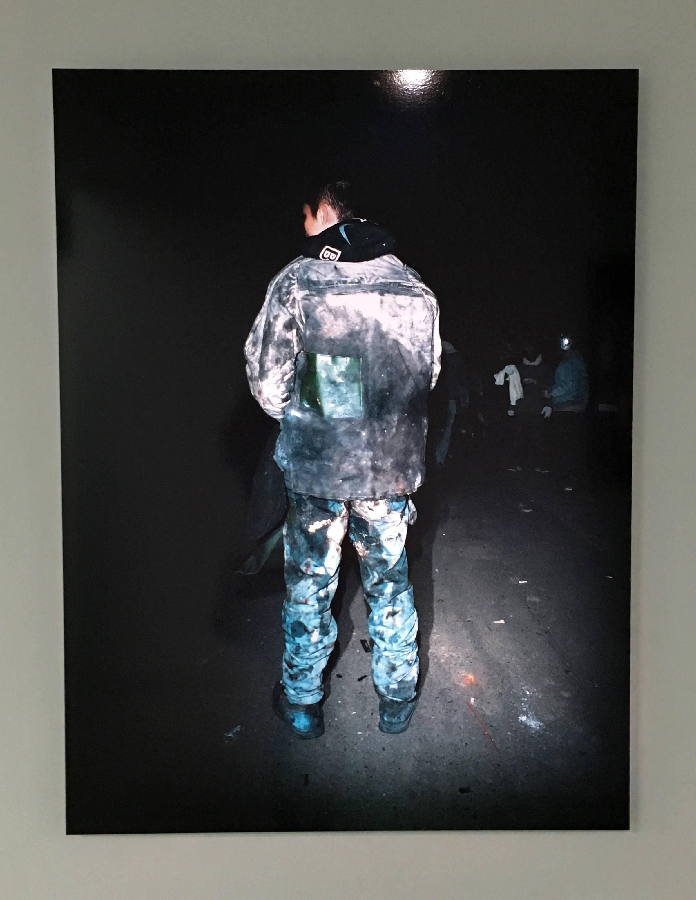 陳伯義,《食砲人 - I》,75 x 100 cm,雷射輸出彩色銀鹽相紙,1/8,2012。