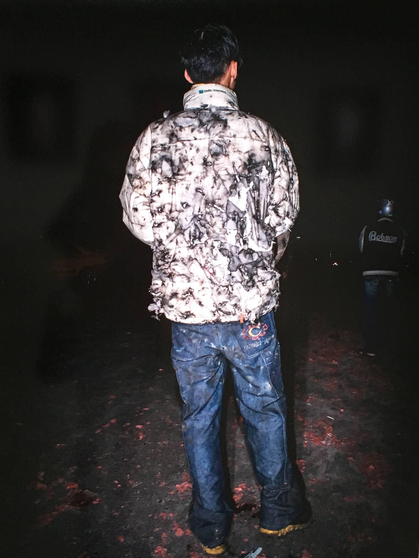 陳伯義,《食砲人 - VIII》細節,75 x 100 cm,雷射輸出彩色銀鹽相紙,1/8,2014。