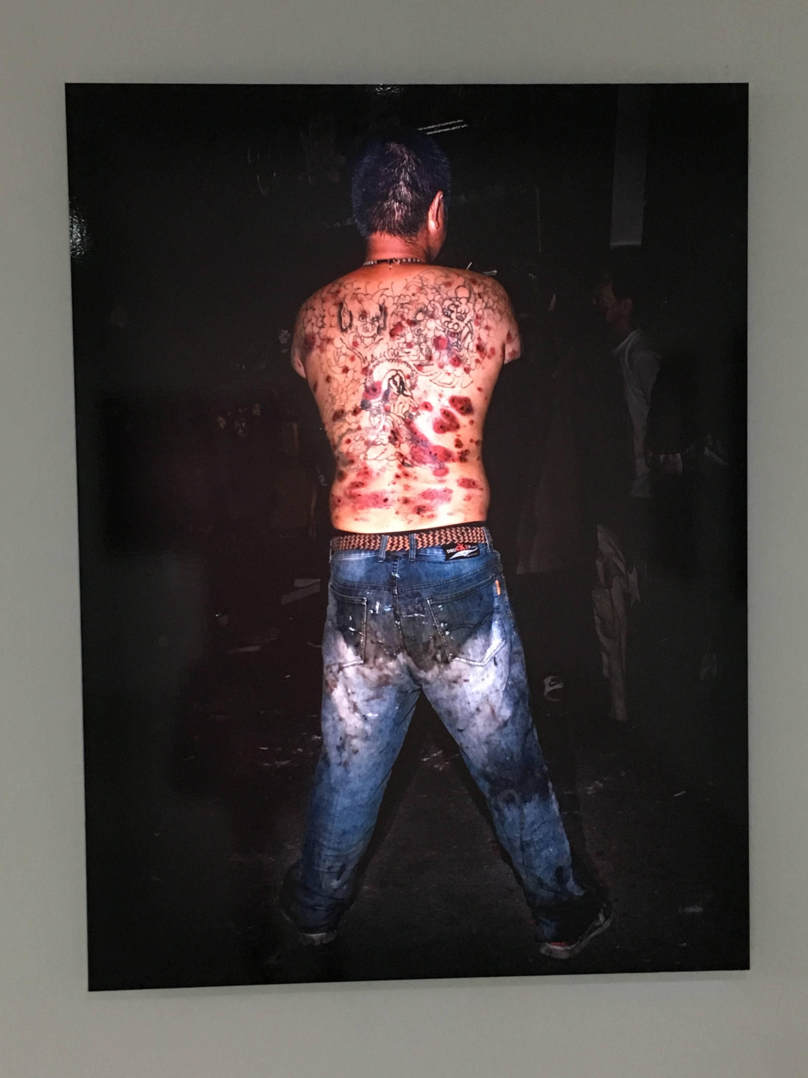 陳伯義,《食砲人 - XVIII》,75 x 100 cm,雷射輸出彩色銀鹽相紙,1/8,2019。
