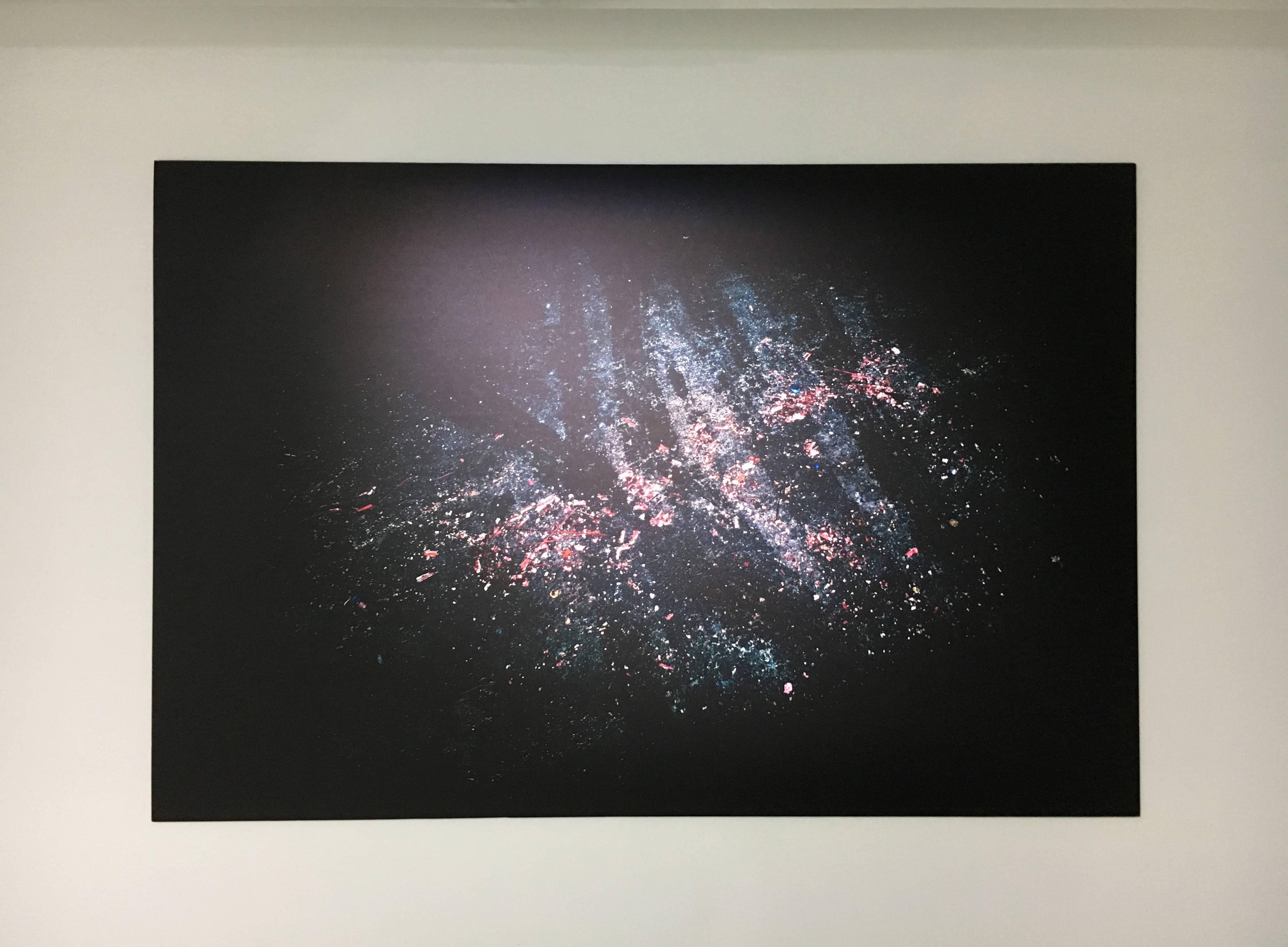 陳伯義,《食砲人 - XXII》,122 x 98 cm,雷射輸出彩色銀鹽相紙,1/8,2012。