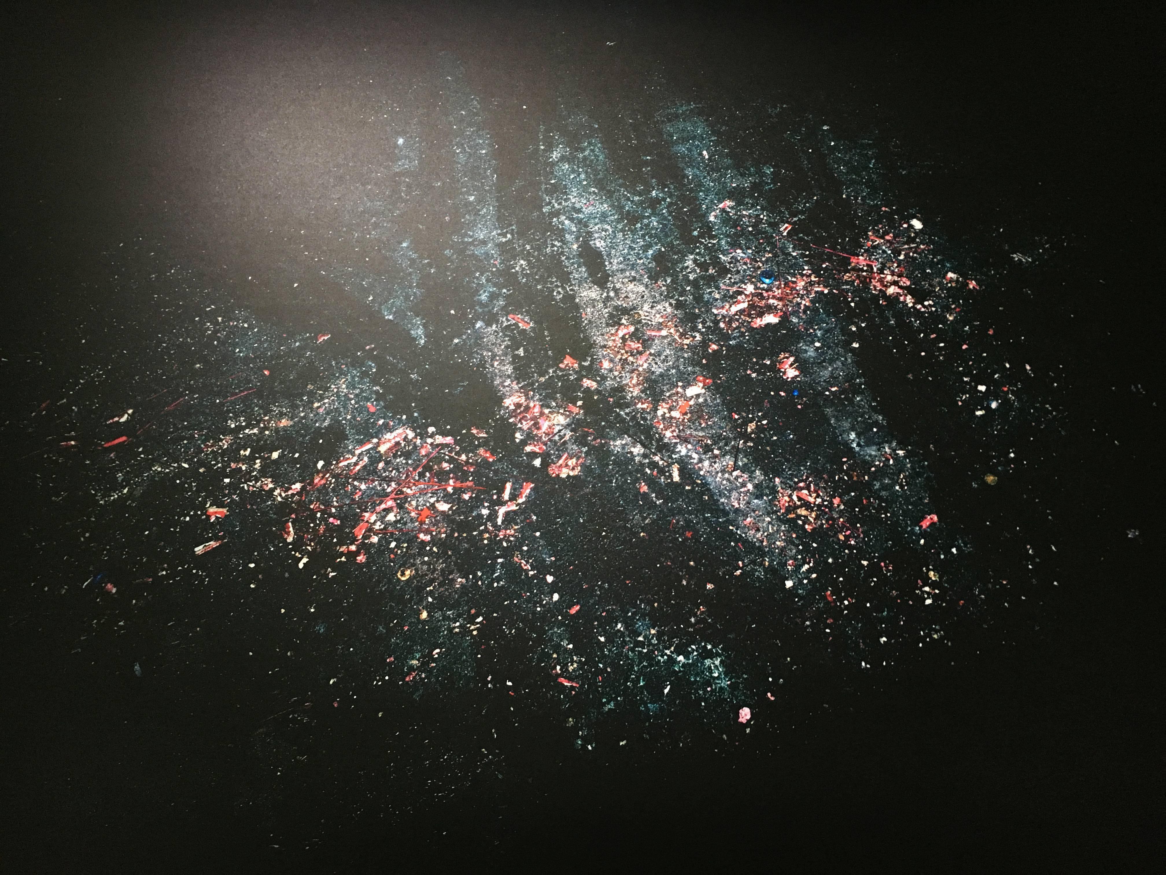 陳伯義,《食砲人 - XXII》細節,122 x 98 cm,雷射輸出彩色銀鹽相紙,1/8,2012。