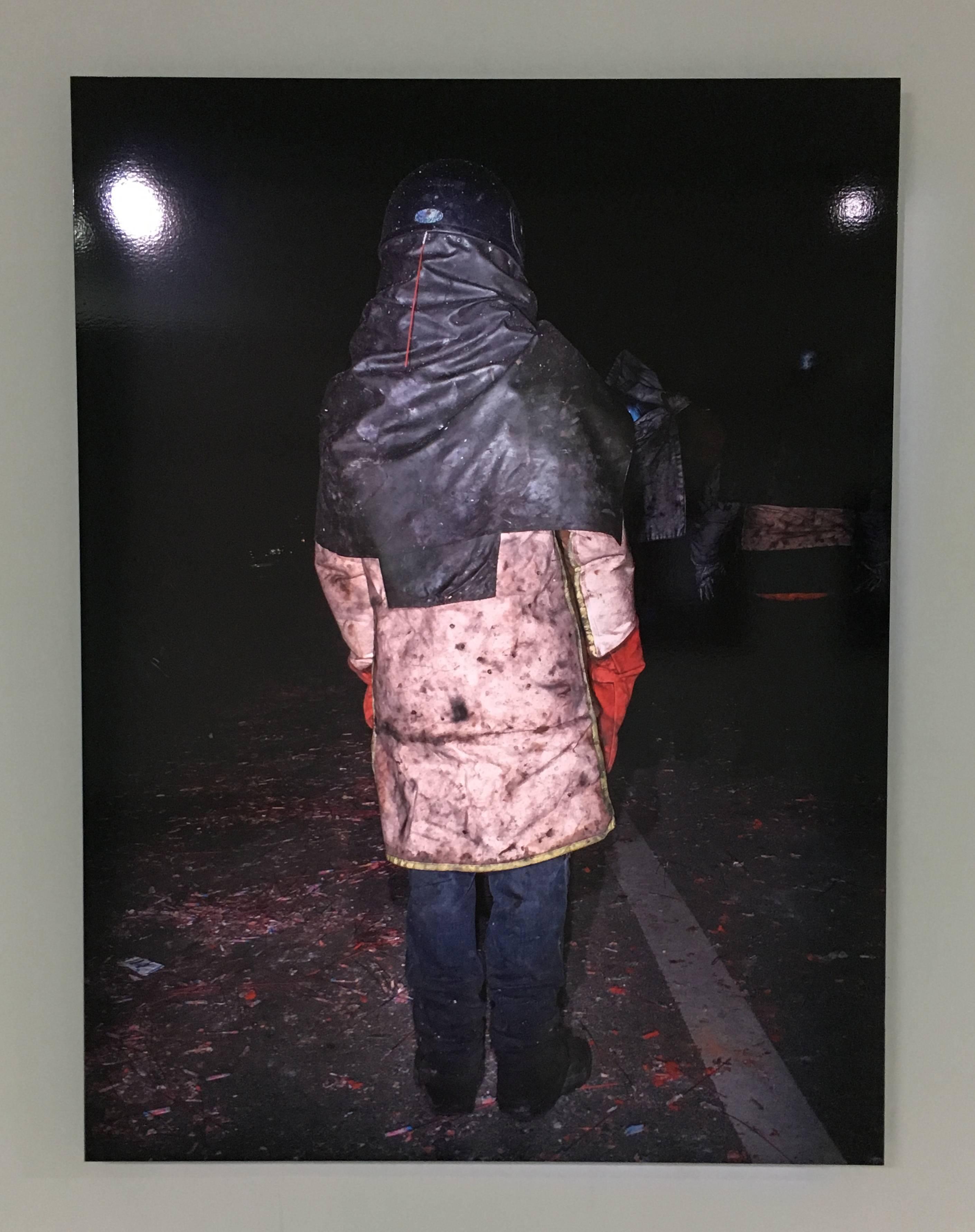 陳伯義,《食砲人 - XIII》,75 x 100 cm,雷射輸出彩色銀鹽相紙,1/8,2018。