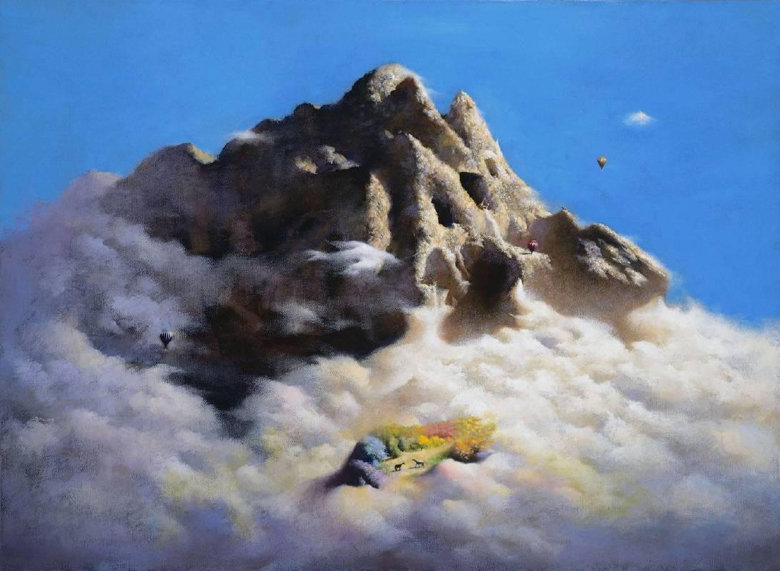 高慶元│旅者系列-彩虹島│53x72.5 cm (20P)│油畫│2019