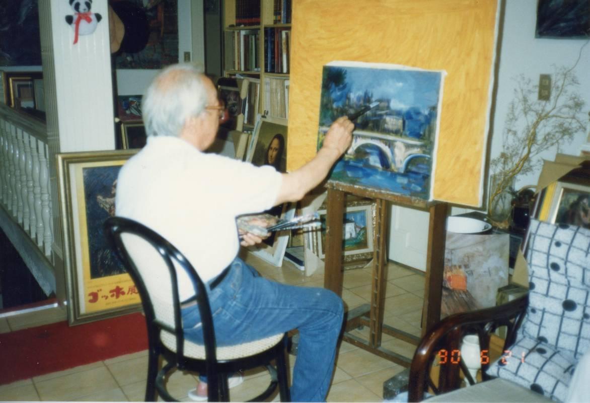 藝術家張萬傳先生。