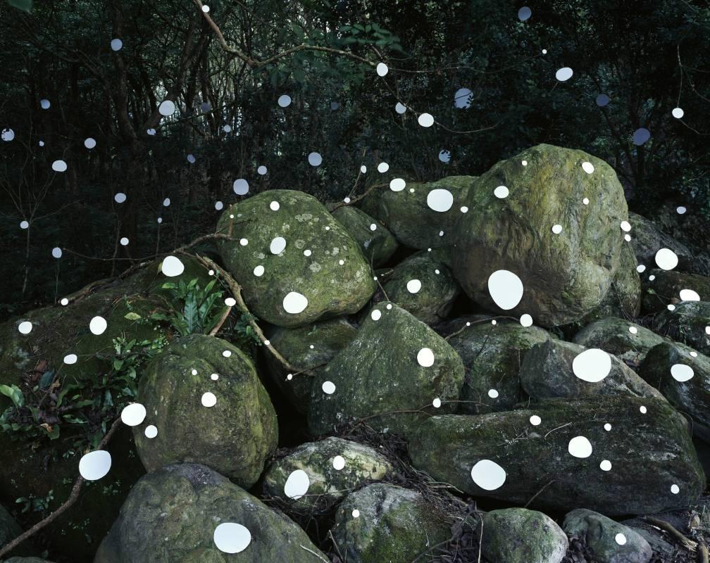劉文瑄  《之間:大石頭• 鳳林》  2019   藝術微噴  120x150 cm