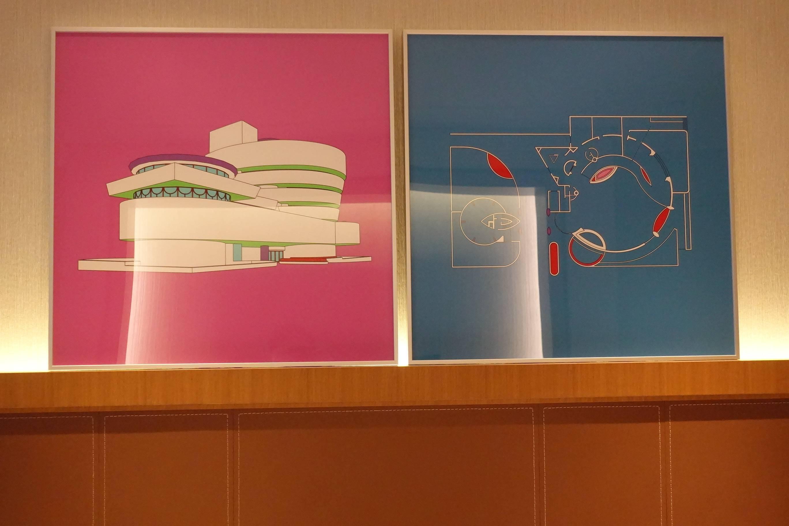 the COLLECTORS展出藝術家Michael Craig-Martin作品。