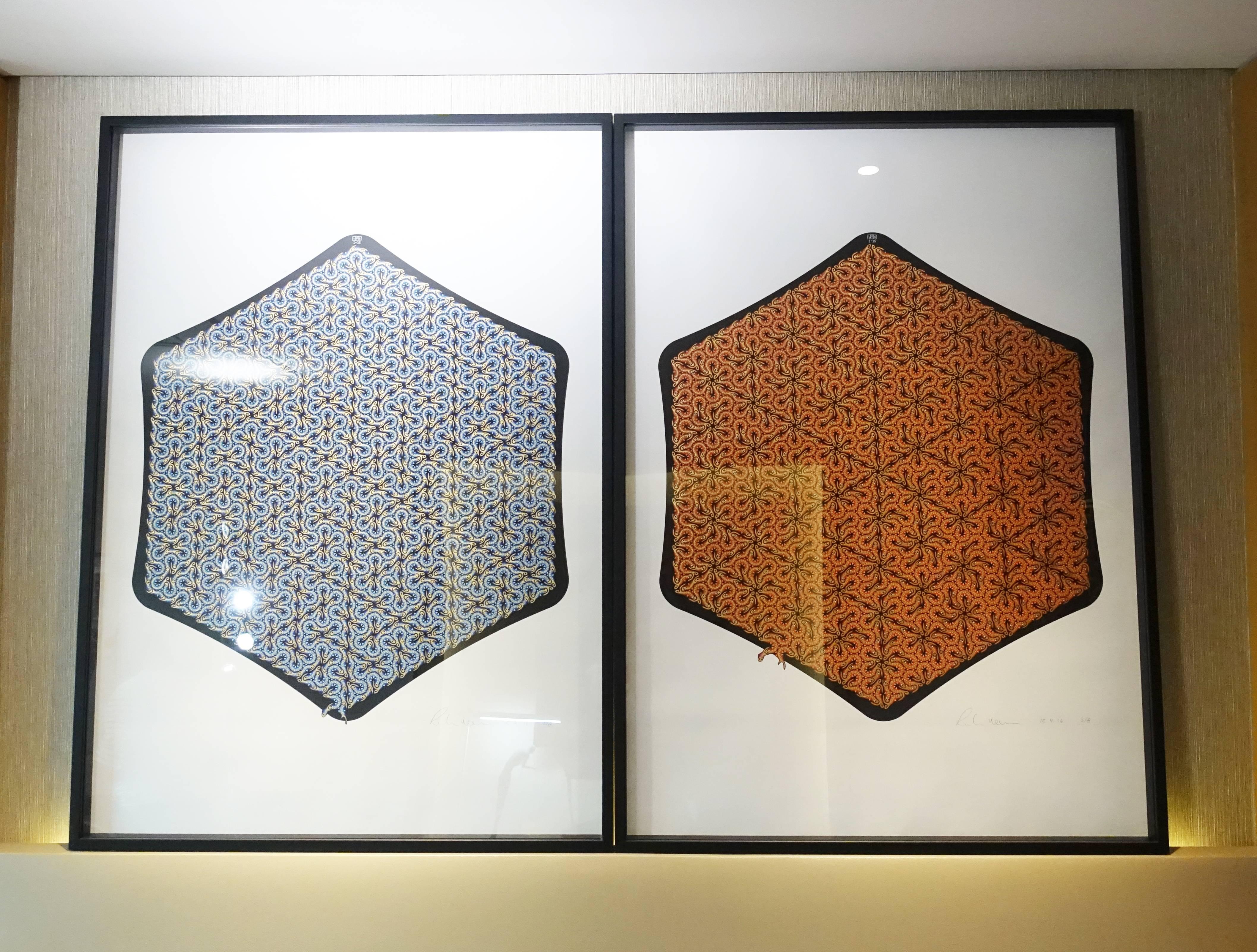 尚畫廊展出藝術家RichardHassell作品。