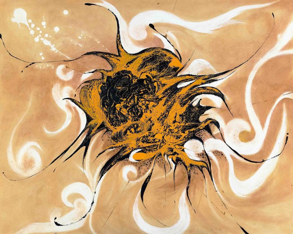 翔, 油彩、畫布, 72.5x91cm (30F), 2005