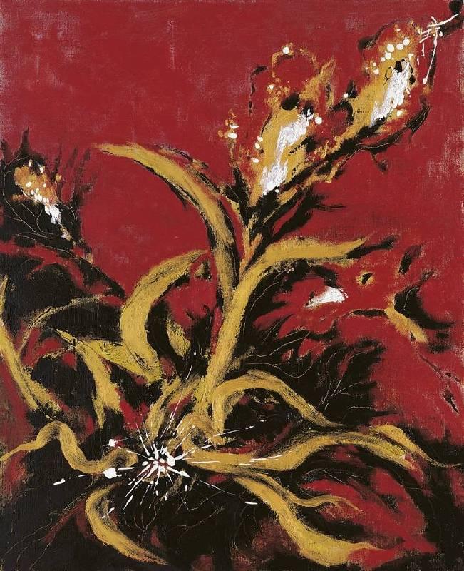 成熟, 油彩、畫布, 65x53cm (15F), 2004