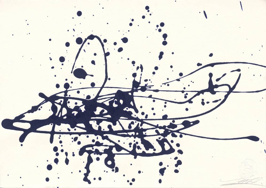 謝貽娟 JO Hsieh None-Space TC40 29.5×42cm 油彩、紙Oil painting on paper 2000