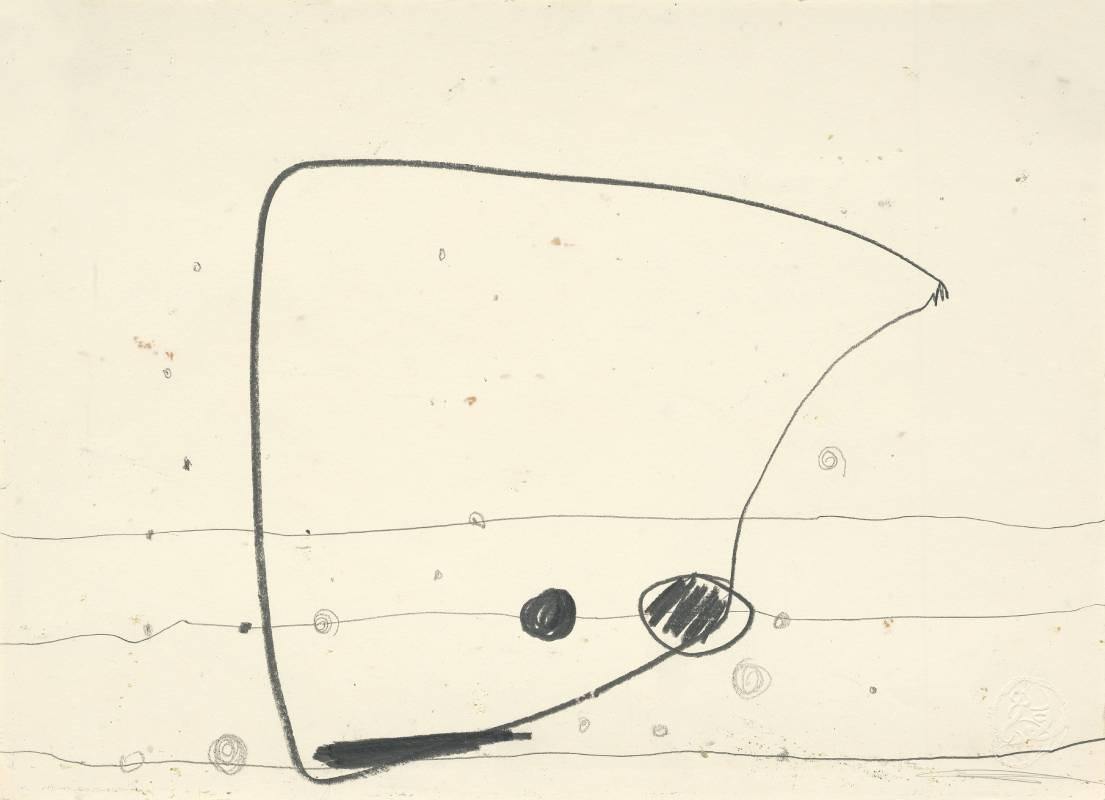 謝貽娟 JO Hsieh None-Space PD216 29.5×40.5cm 鉛筆、紙Pencil on paper 1996