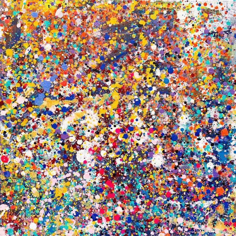喜樂的旋律  Acrylic on Canvas  50x50cm  2019