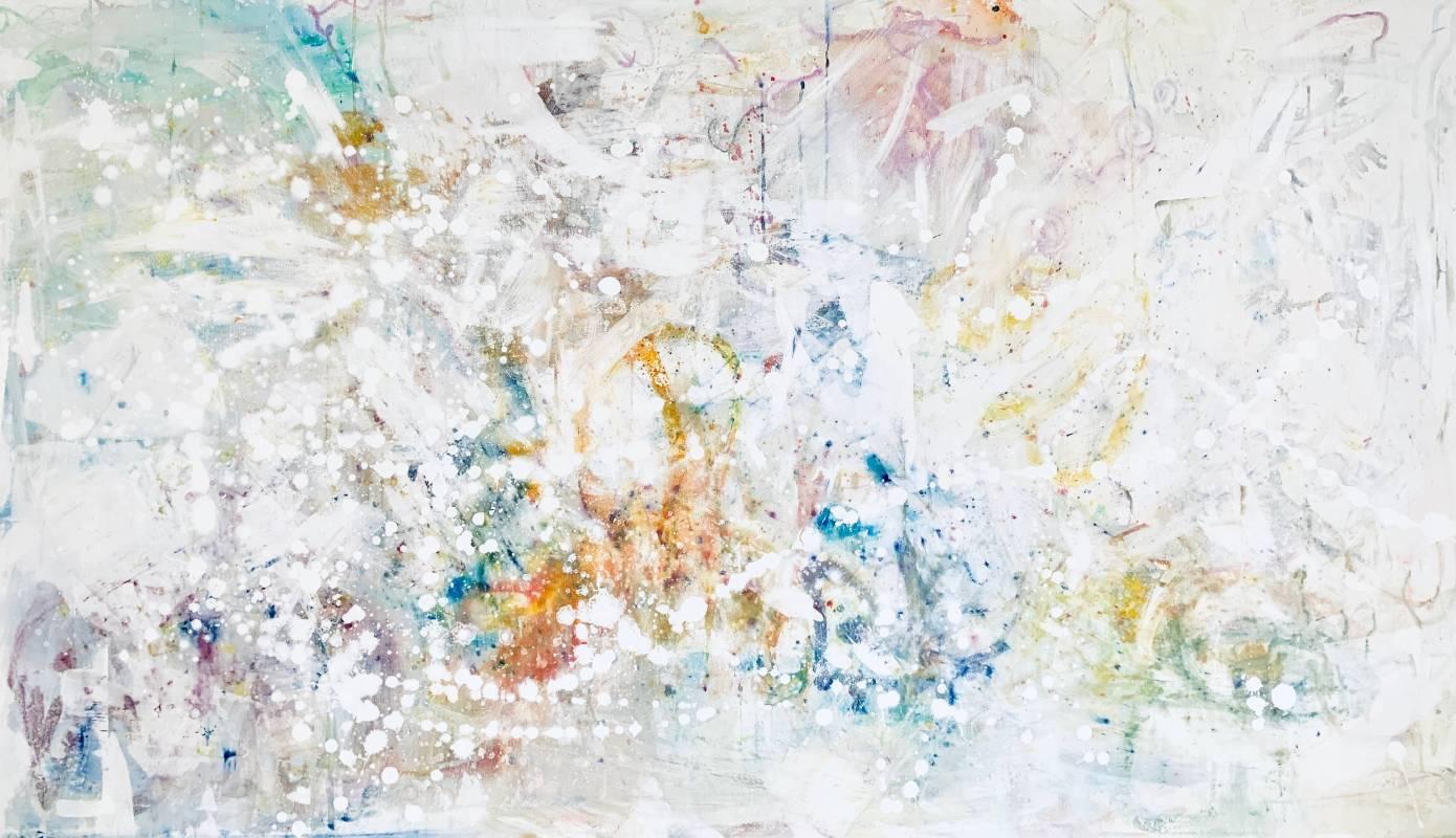 無題  Acrylic on Canvas   180x105cm  2019