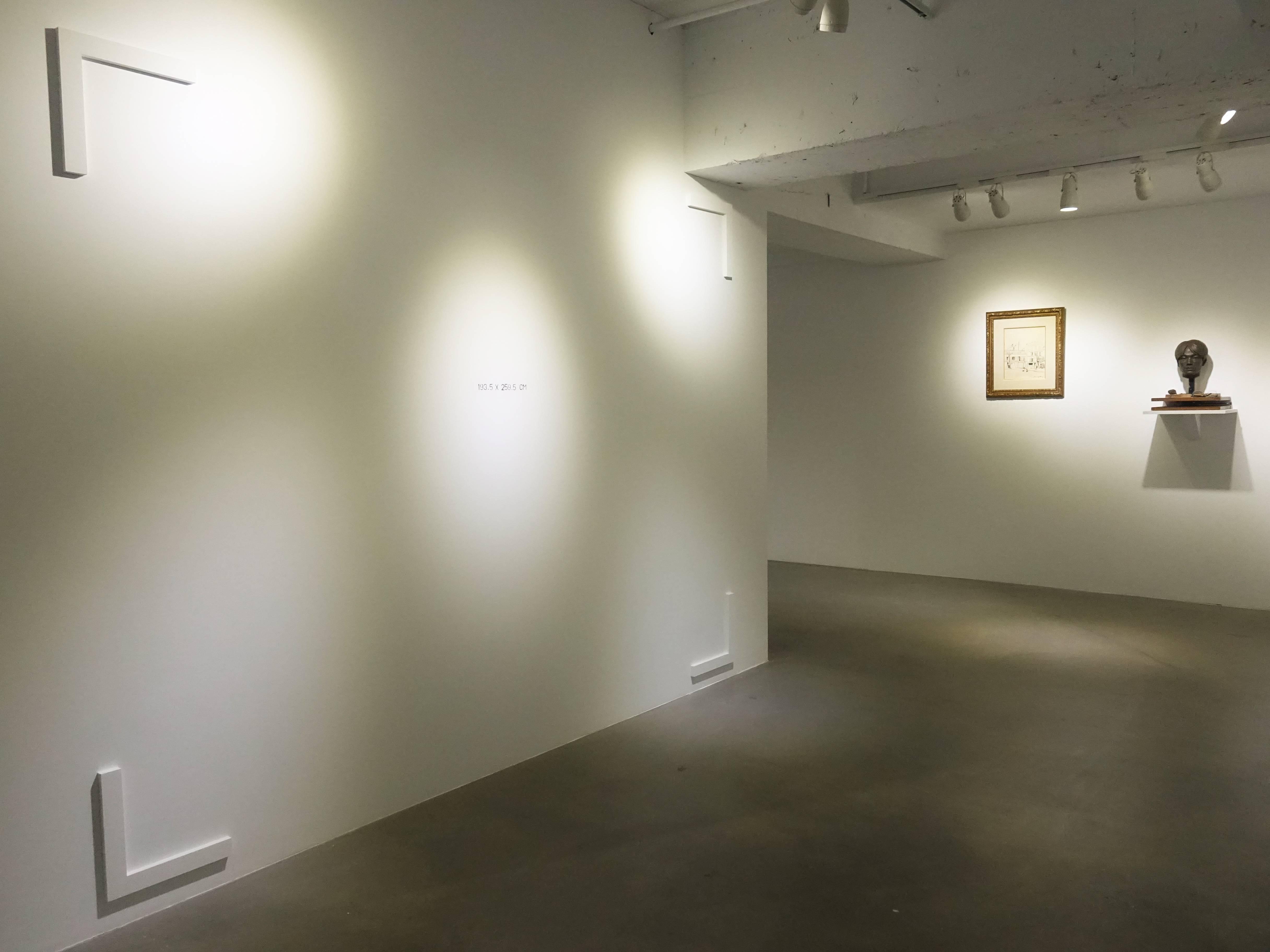 日動畫廊展覽空間。