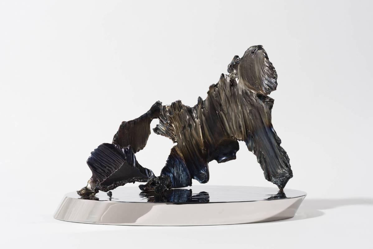 宋璽德 Sung Hsite 小島系列-小北湖Little Island Series-Hsiao Bei Lake鋼、不鏽鋼 Steel,  Stainless steel42x21x29 cm2015
