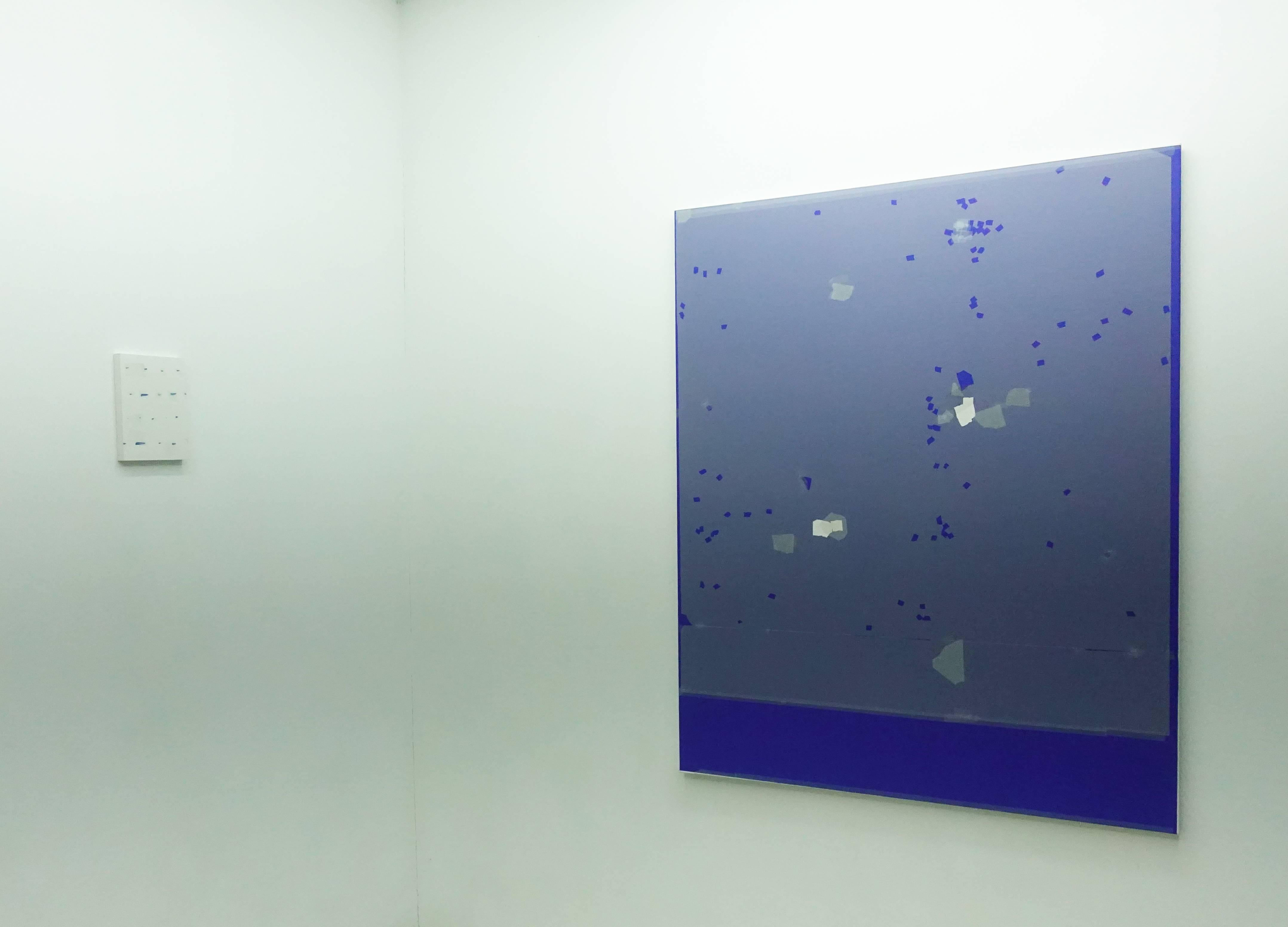藝術家基斯·古祖瓦德展出作品。