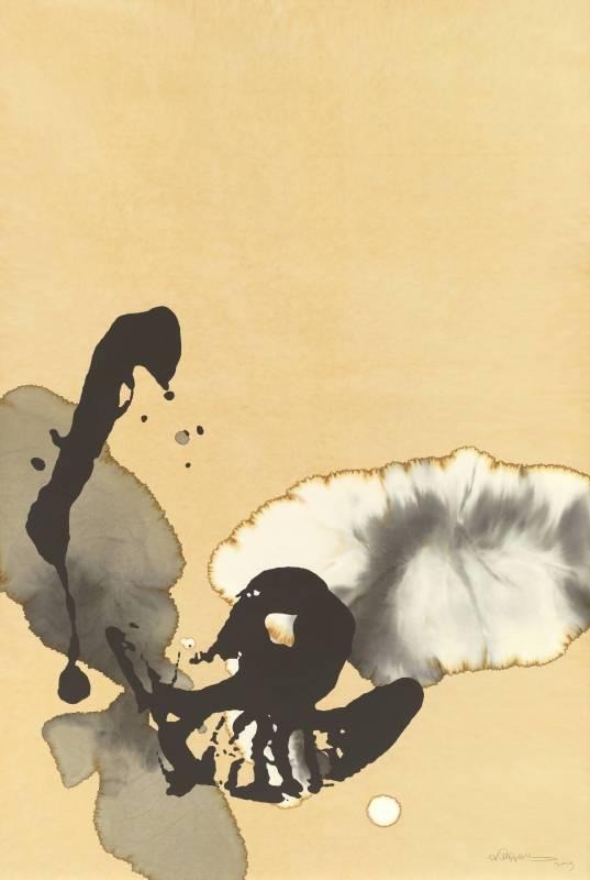 侯珊瑚 Ho Shanhu 态象系列TY1904 Dynamic Phenomenon series TY1904紙本水墨 Ink on paper180x123cm2019
