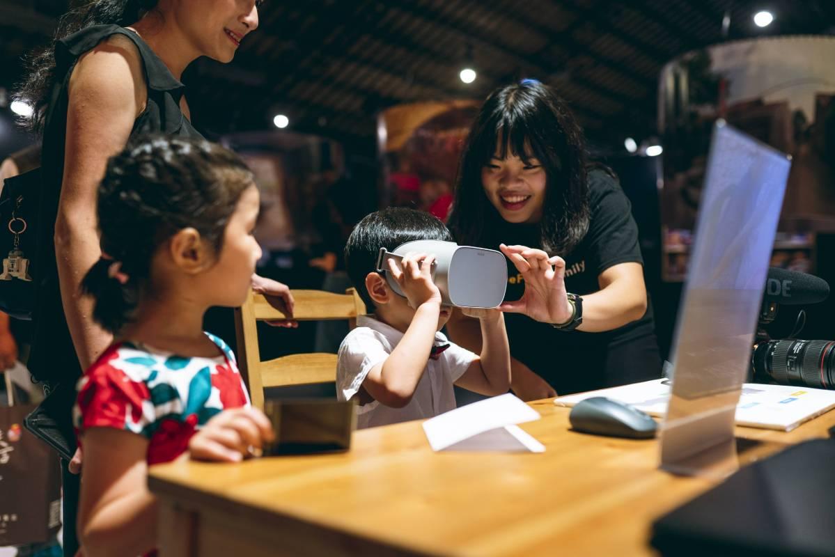 利用 VR 虛擬實境身歷印尼其境