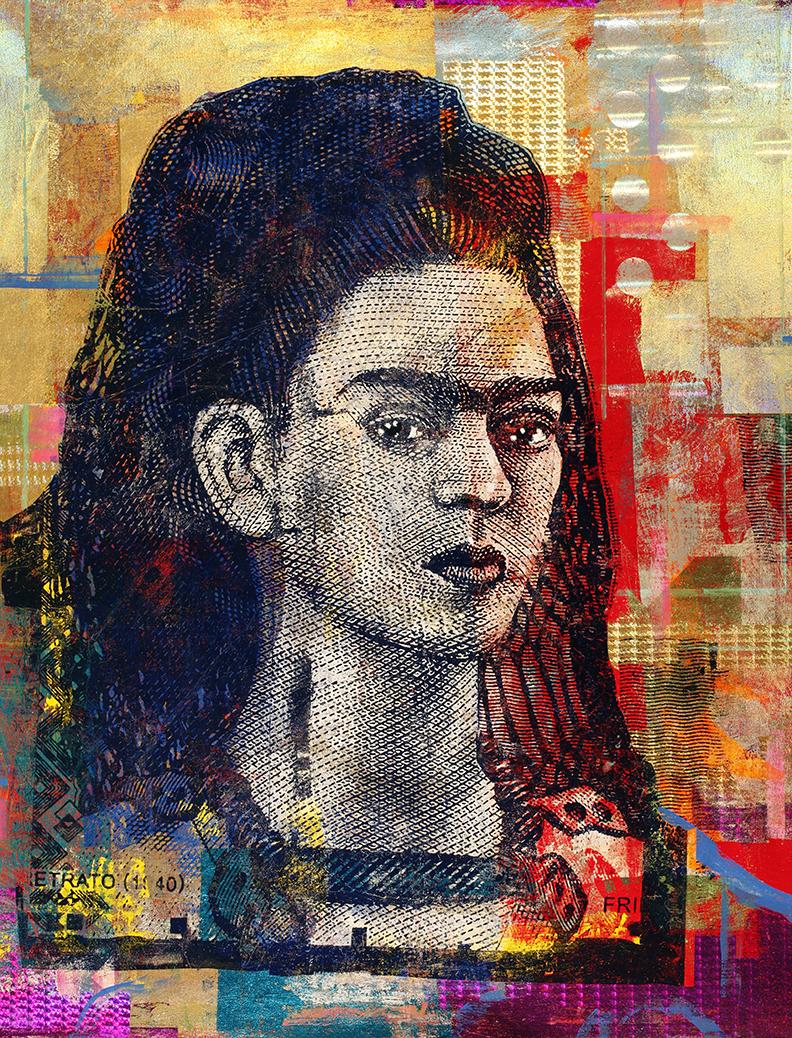 Houben Tcherkelov 500 Pesos Frida Kahlo 2020 綜合媒材 152x122cm