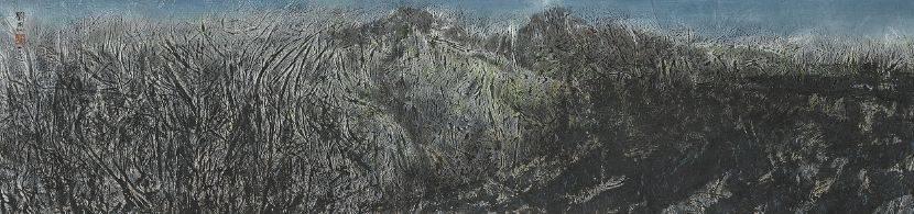 劉國松-空谷松籟斂風華