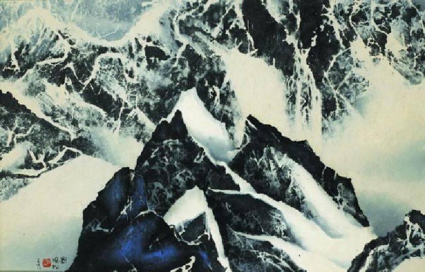 劉國松-山外山(宇宙心印)
