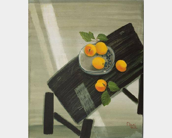 董小蕙-初夏-黃杏