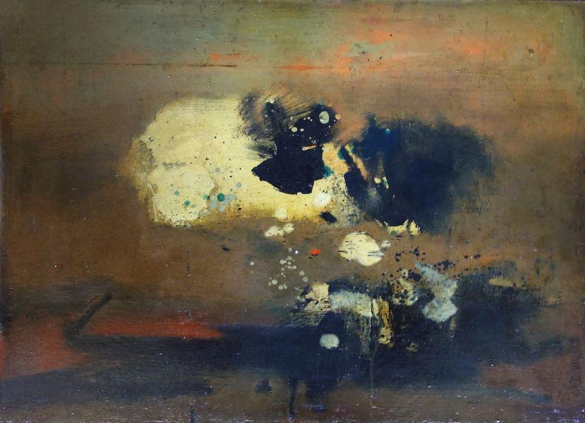 鍾泗濱-抽象1963