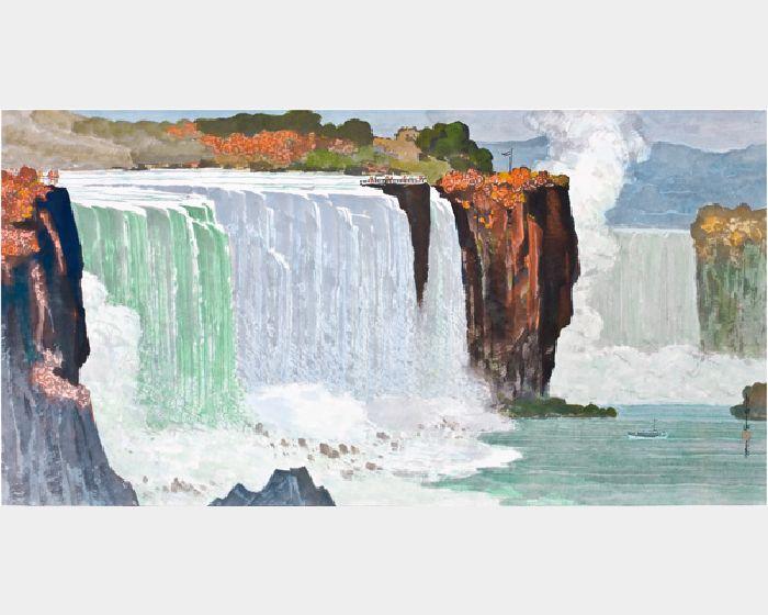 馬白水-尼加拉瀑布全景