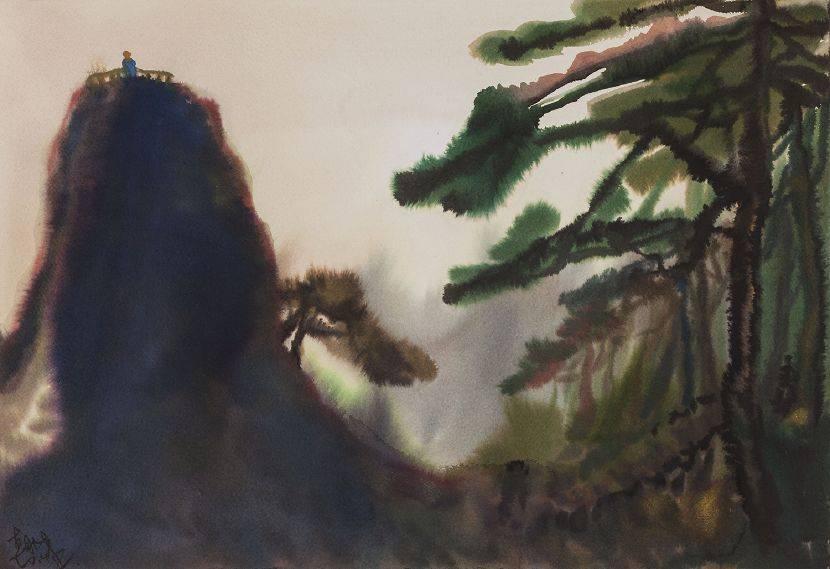 尹朝陽-觀山