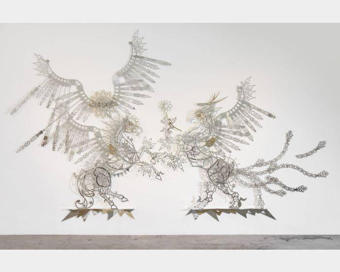 席時斌-告知-來自飛馬與獅鷲獸的神話 Annunciation - From the Myth of Pegasus and Gryphon