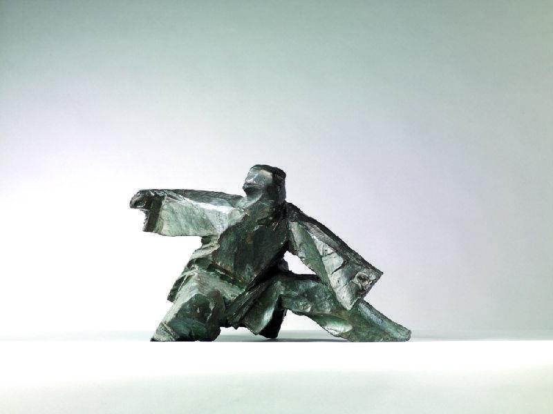 朱銘-太極系列-單鞭下勢 Taichi Series- Single Whip